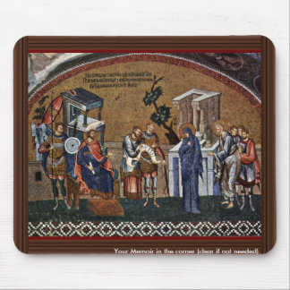 Mosaics Of The Church Kahri-Djami Scene In Istanbu Mouse Pads