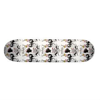 Moscoso Family Crest 21.3 Cm Mini Skateboard Deck