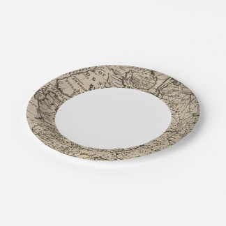 Moscovy, Russia 7 Inch Paper Plate
