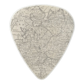 Moscovy, Russia Acetal Guitar Pick