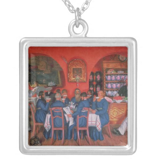 Moscow Cafe, 1916 Personalized Necklace