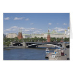 Moscow cityscape greeting card