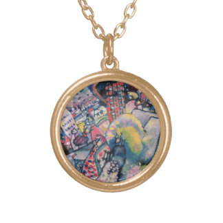 Moscow I, 1916 Round Pendant Necklace