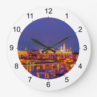 Moscow Kremlin Illuminated Clocks