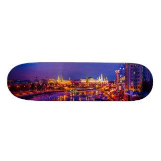 Moscow Kremlin Illuminated Skate Deck