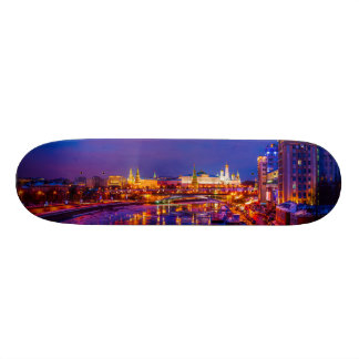 Moscow Kremlin Illuminated Skate Board Deck