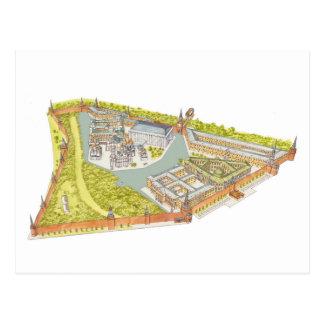 Moscow Kremlin Postcard