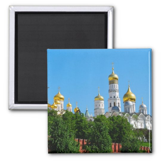 Moscow Kremlin Square Magnet
