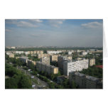 Moscow landscape card