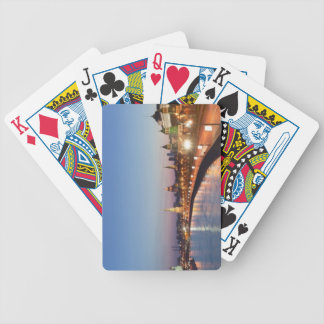 Moscow River at Dusk Bicycle Playing Cards