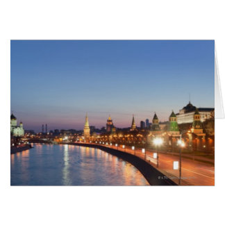 Moscow River at Dusk Card