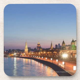 Moscow River at Dusk Drink Coaster