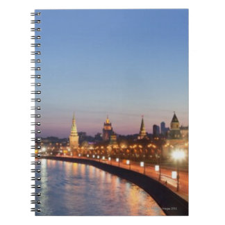 Moscow River at Dusk Notebooks