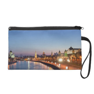Moscow River at Dusk Wristlet