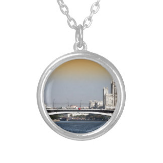 Moscow Round Pendant Necklace