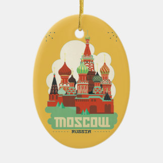 Moscow Russia Christmas Ornament