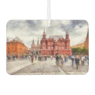 Moscow, Russia, Manezhnaya Square. Car Air Freshener