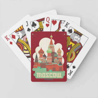 Moscow Russia Playing Cards