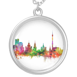 Moscow Russia Skyline Pendant