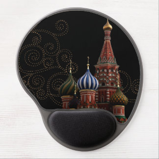 Moscow Russia St. Basil's Cathedral Gel Mousepads