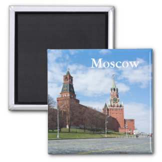 Moscow s Red Square Fridge Magnets