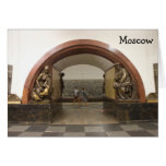 Moscow subway station Card