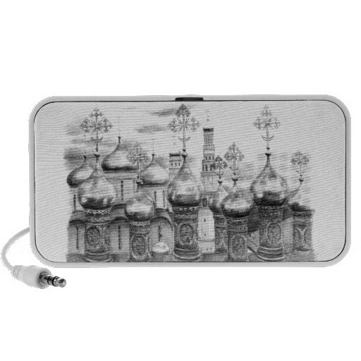 Moscow the Kremlin design by Schukina g048 iPod Speaker