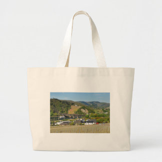 Moselle bridge with Bullay Large Tote Bag