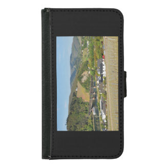 Moselle bridge with Bullay Samsung Galaxy S5 Wallet Case