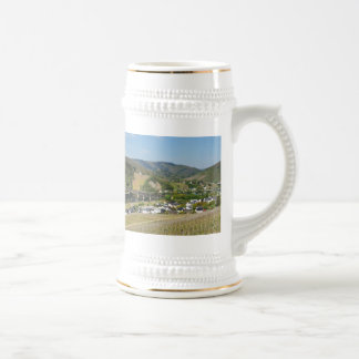 Moselle valley with Bullay Beer Stein