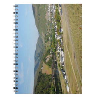 Moselle valley with Bullay Notebook