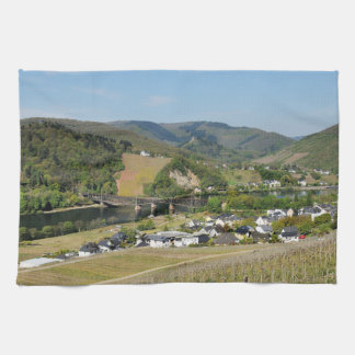 Moselle valley with Bullay Towel