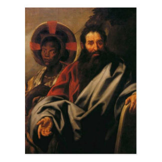 Moses and His Ethiopian Wife by Jacob Jordaens Postcard