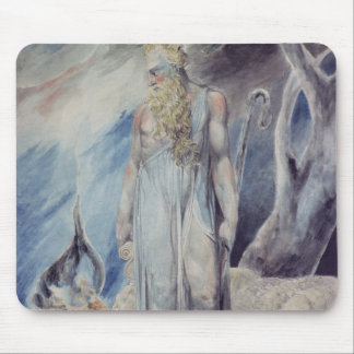 Moses and the Burning Bush Mouse Pad
