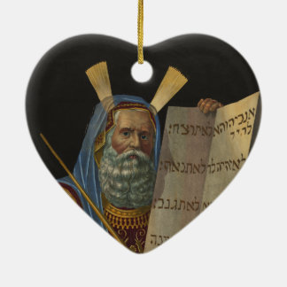 Moses by Henry Schile 1874 Christmas Ornament
