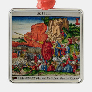 Moses crossing the Red Sea Christmas Ornament