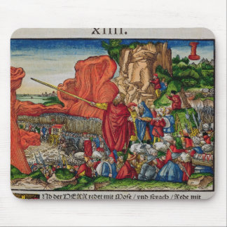 Moses crossing the Red Sea Mouse Pad