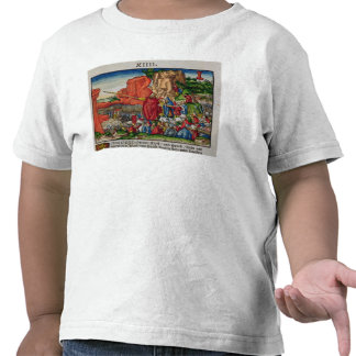 Moses crossing the Red Sea T Shirts