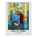 Moses in a Basket Print - Customised