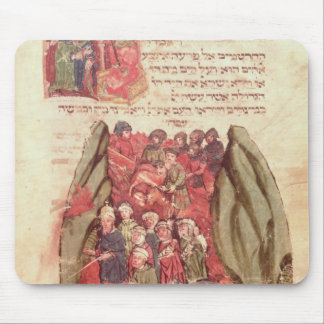 Moses leads the Children of Israel across Mouse Mat