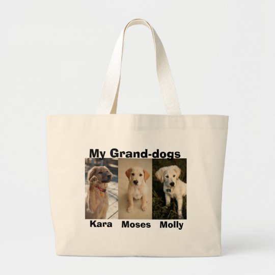 Moses, molly younger, Kara wave, Kara   , My Gr... Large Tote Bag
