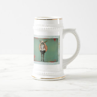 Moses Monogram Stein Coffee Mug