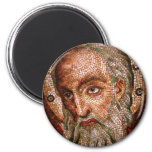 Moses Mosaic in the Cathedral Basilica of St Louis Refrigerator Magnets