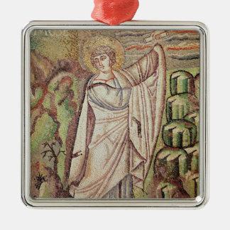 Moses on Mount Sinai Christmas Ornaments