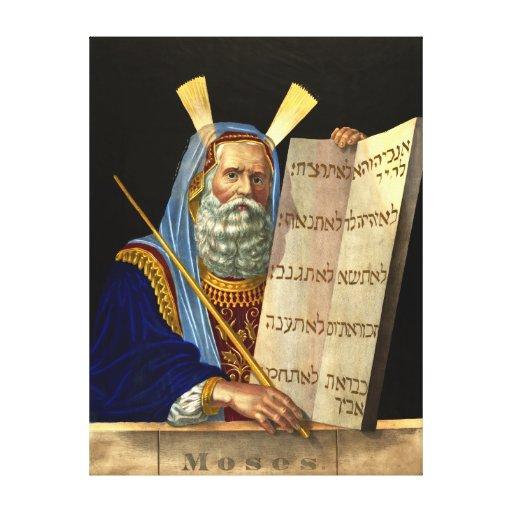 Moses Portrait 1874 Gallery Wrap Canvas