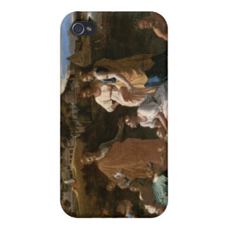 Moses Rescued from the Water, 1647 iPhone 4 Covers