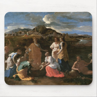 Moses Rescued from the Water, 1647 Mouse Mat