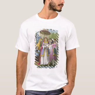 Moses Saved by Pharaoh's Daughter, from a bible pr T-Shirt