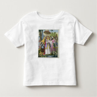 Moses Saved by Pharaoh's Daughter, from a bible pr T-shirts
