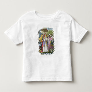 Moses Saved by Pharaoh's Daughter, from a bible pr Toddler T-Shirt